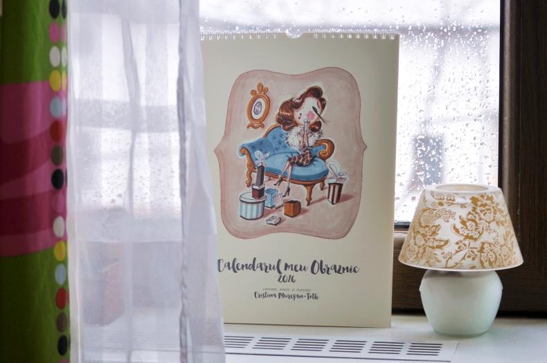 calendar ilustrat cristina muresam